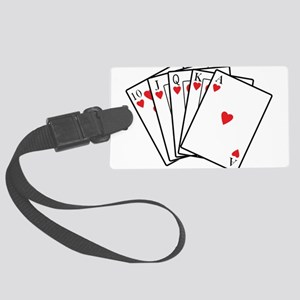 Royal Flush Luggage Tag